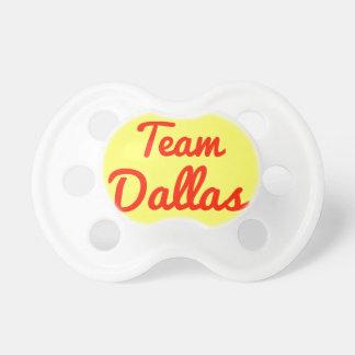 Team Dallas Baby Pacifier