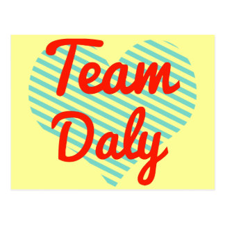 Team Daly Postcard