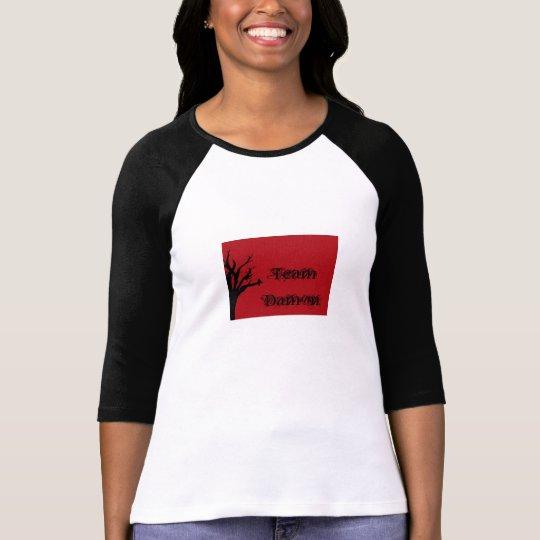 Team Damon Vengeful Crow T-Shirt
