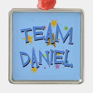 Team Daniel Customizable Metal Ornament