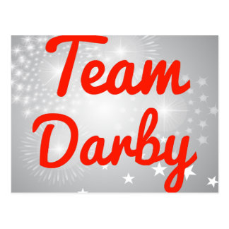 Team Darby Postcard