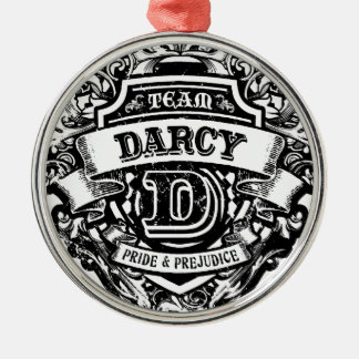 Team Darcy Metal Ornament