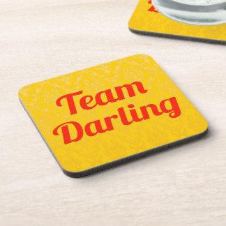Team Darling Drink Coaster