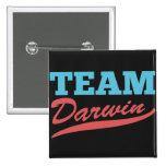 Team Darwin 2 Inch Square Button