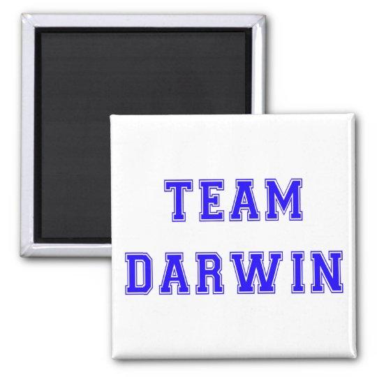 Team Darwin (blue) Magnet