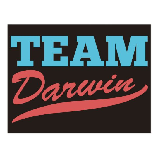 Team Darwin Postcard