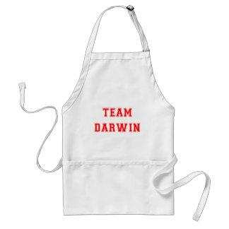 Team Darwin (red) Adult Apron