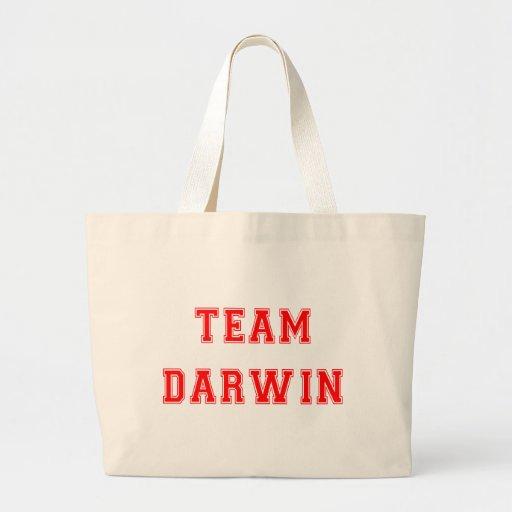 Team Darwin (red) Bags
