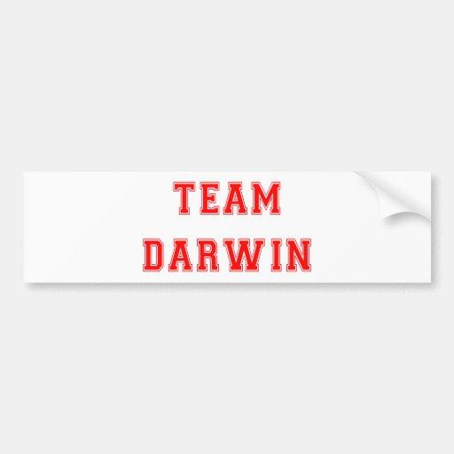 Team Darwin (red) Bumper Sticker