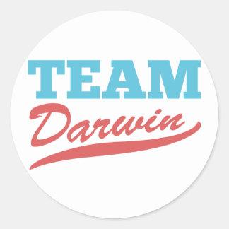 Team Darwin Stickers