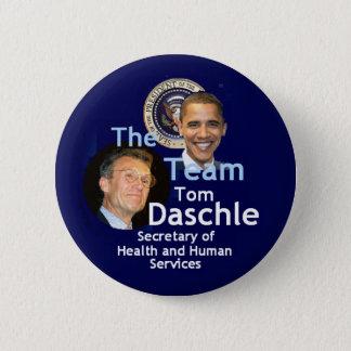 Team Daschle Button