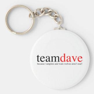 Team Dave Keychain