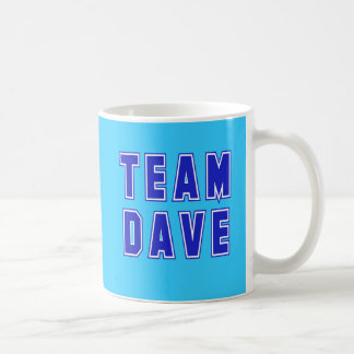Team Dave T shirts and Products Coffee Mug
