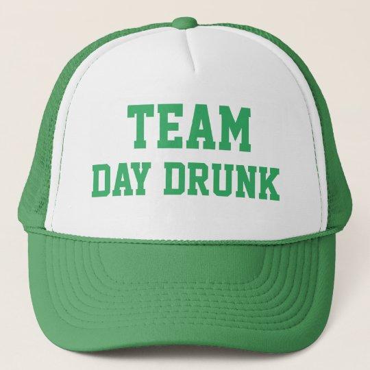 888312849e64e TEAM DAY DRUNK ST. PATRICK S DAY CAP
