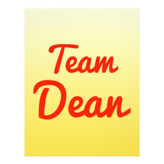 Team Dean Custom Flyer
