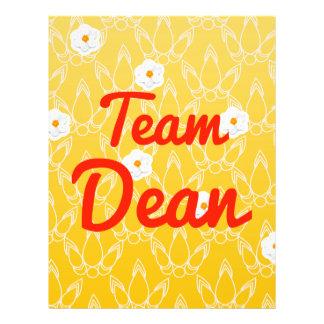Team Dean Flyer