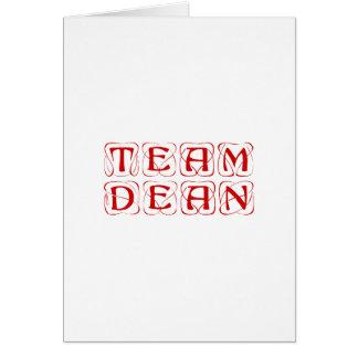 team-dean-kon-burg.png greeting card