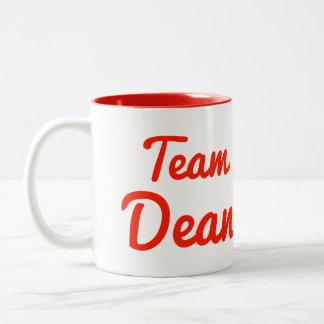 Team Dean Two-Tone Coffee Mug