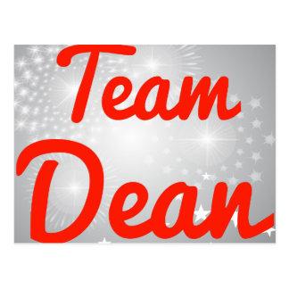 Team Dean Postcard
