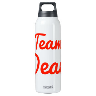 Team Dean 16 Oz Insulated SIGG Thermos Water Bottle