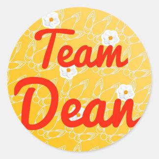 Team Dean Classic Round Sticker