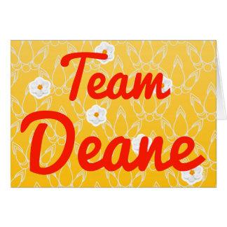 Team Deane Greeting Card
