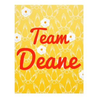 Team Deane Flyer Design
