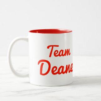 Team Deane Two-Tone Coffee Mug