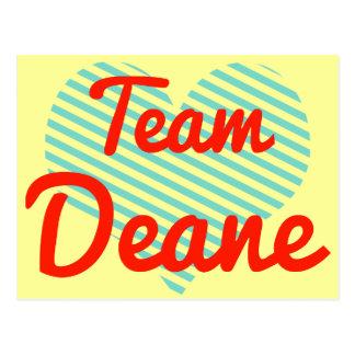 Team Deane Postcard
