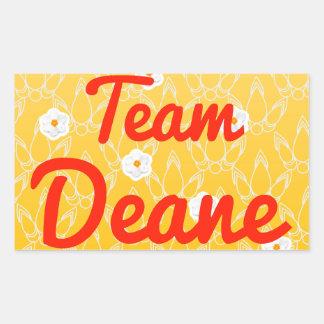 Team Deane Rectangular Sticker