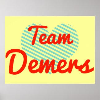 Team Demers Print
