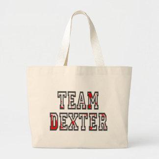 Team Dexter Tote Bags