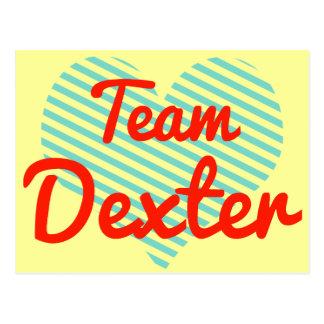 Team Dexter Postcards