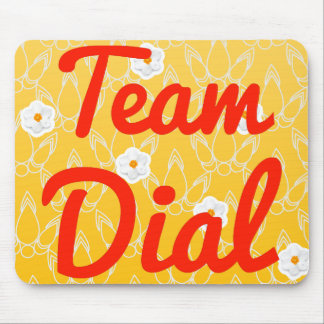 Team Dial Mouse Pads