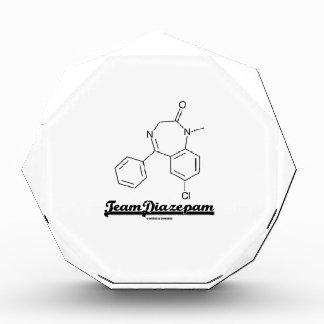 Team Diazepam (Chemical Molecule) Acrylic Award