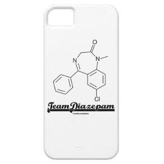 Team Diazepam (Chemical Molecule) iPhone 5 Cases