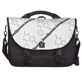 Team Diazepam (Chemical Molecule) Bag For Laptop
