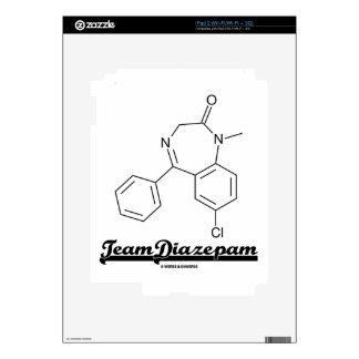 Team Diazepam (Chemical Molecule) iPad 2 Skin