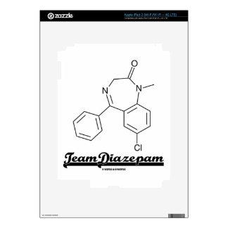 Team Diazepam (Chemical Molecule) iPad 3 Decal