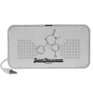 Team Diazepam (Chemical Molecule) Travelling Speaker
