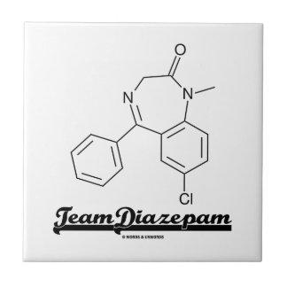 Team Diazepam (Chemical Molecule) Tiles