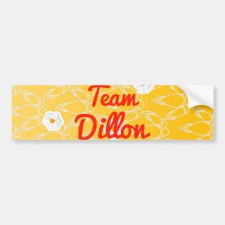 Team Dillon Car Bumper Sticker
