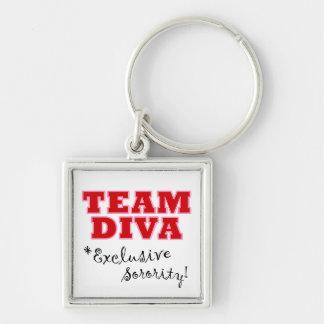 """Team Diva"" keychain"