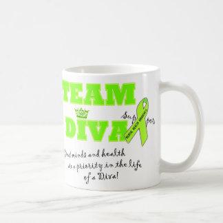 """""""Team Diva"""" Mental Health Awareness Mugs"""