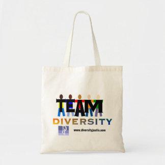 Team Diversity Canvas Bags