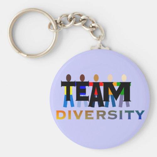 Team Diversity Keychain