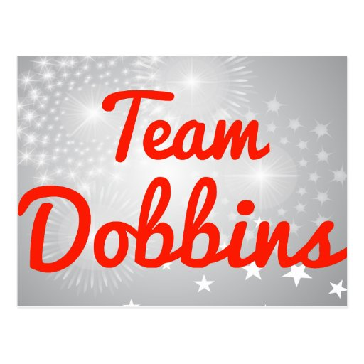 Team Dobbins Postcards