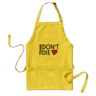 Team Don t Die - Customizable Apron