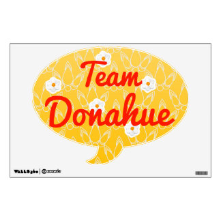 Team Donahue Wall Graphic