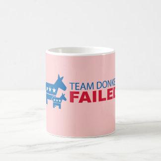 Team Donkey Failed Coffee Mug